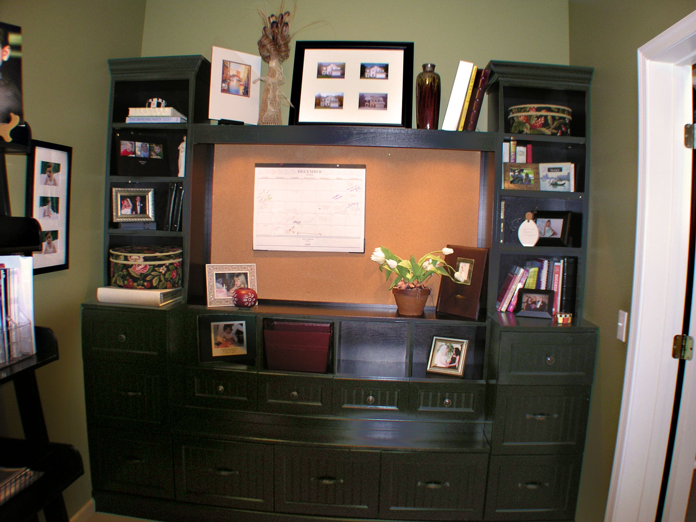 Home Office Built-in Cabinet - Craftworks Custom Cabinetry - Rochester, NY