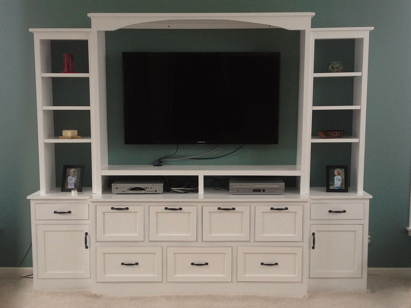 Entertainment Center - Craftworks Custom Cabinetry - Rochester, NY
