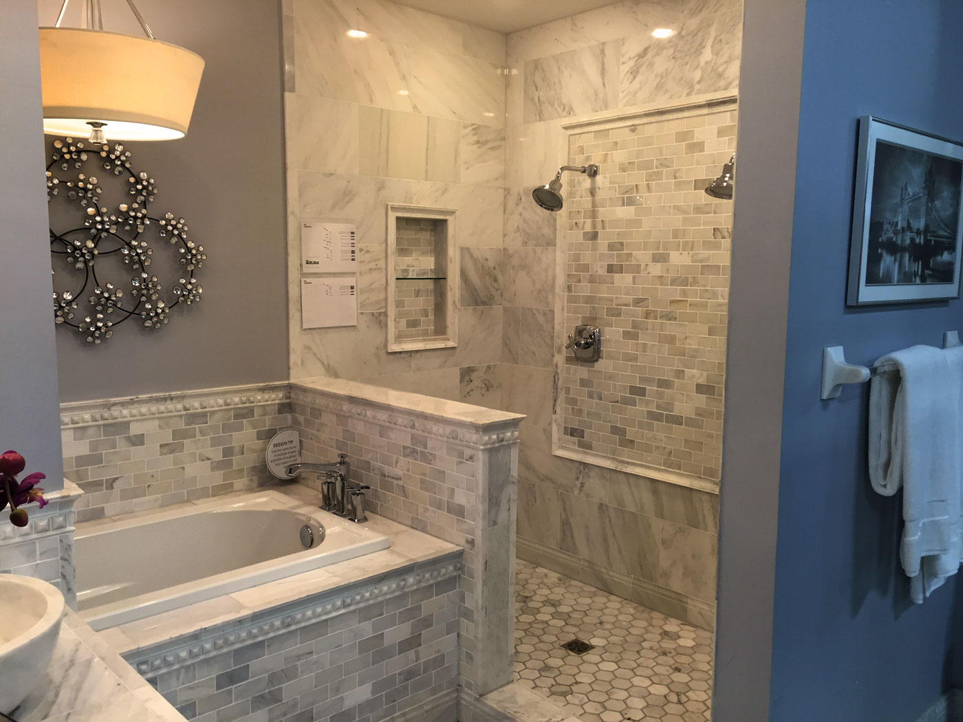 Bathroom Design - Craftworks Custom Cabinetry - Rochester, NY