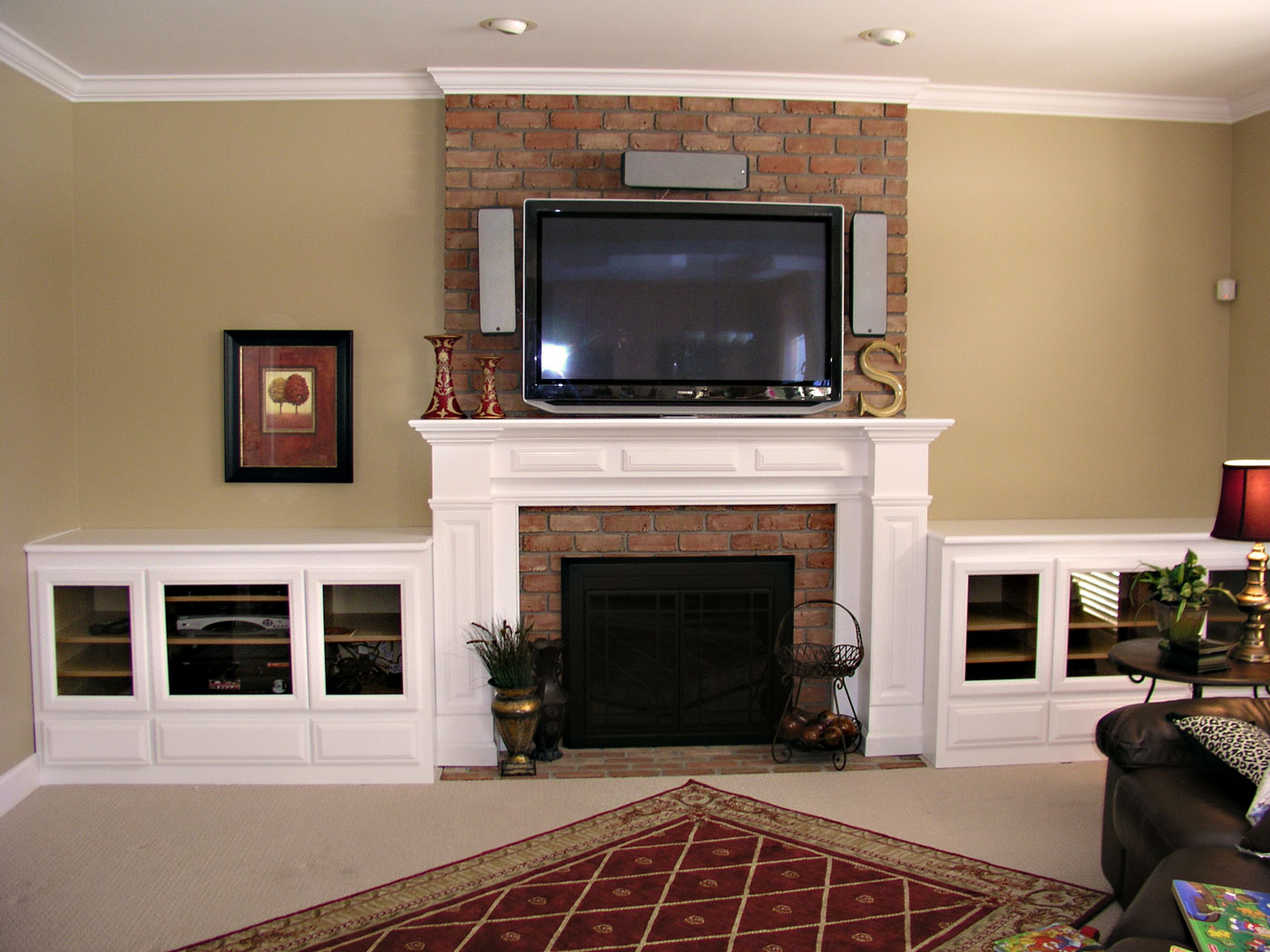 Fireplace Mantels - Craftworks Custom Cabinetry - Rochester, NY