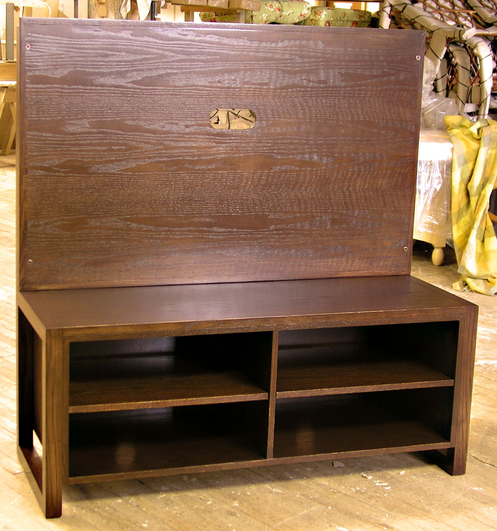 Custom Wood Bench - Craftworks Custom Cabinetry - Rochester, NY