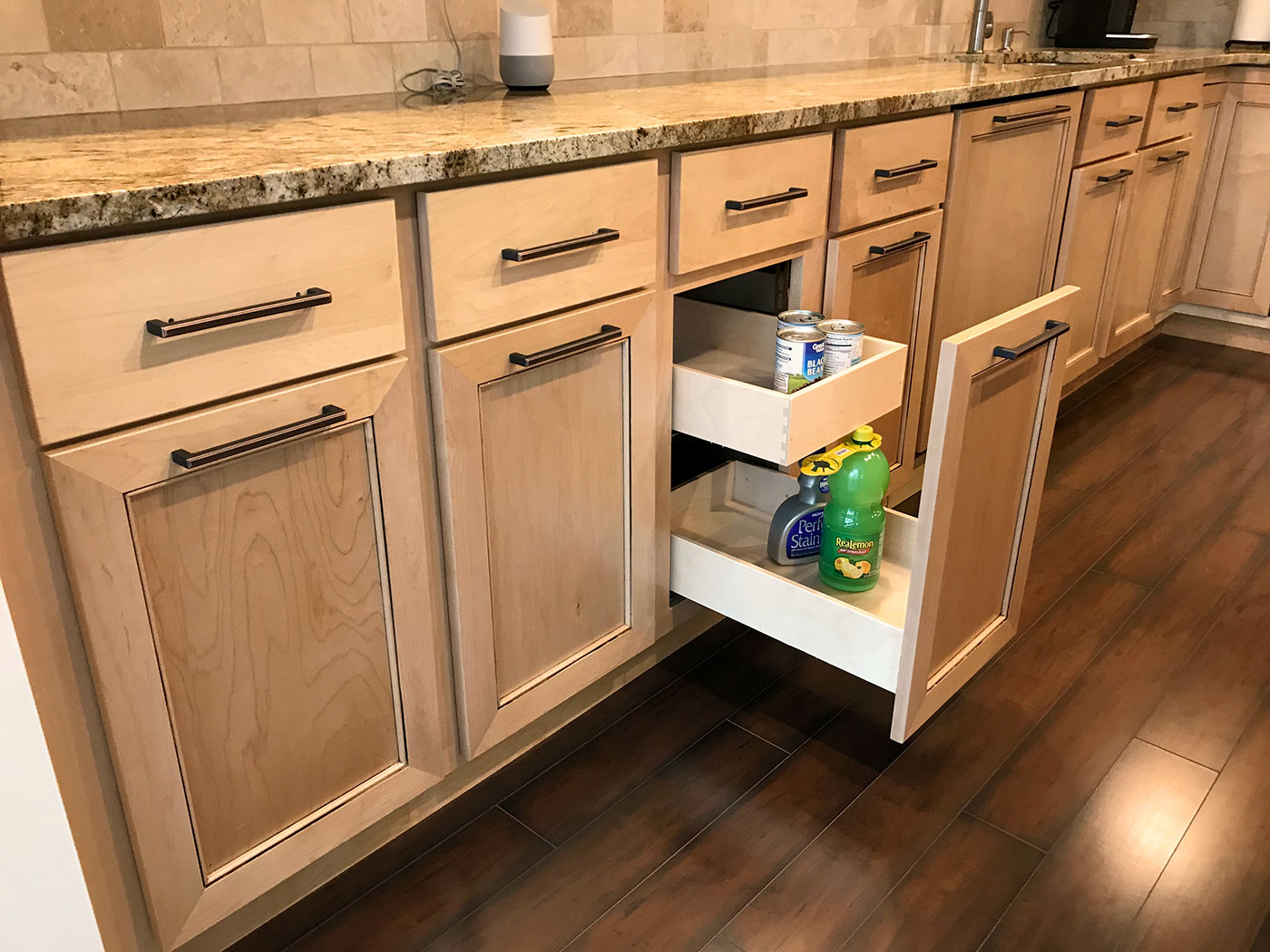 Kitchen Redesign - Pre-Built Cabinets - Craftworks Custom Cabinetry - Rochester, NY