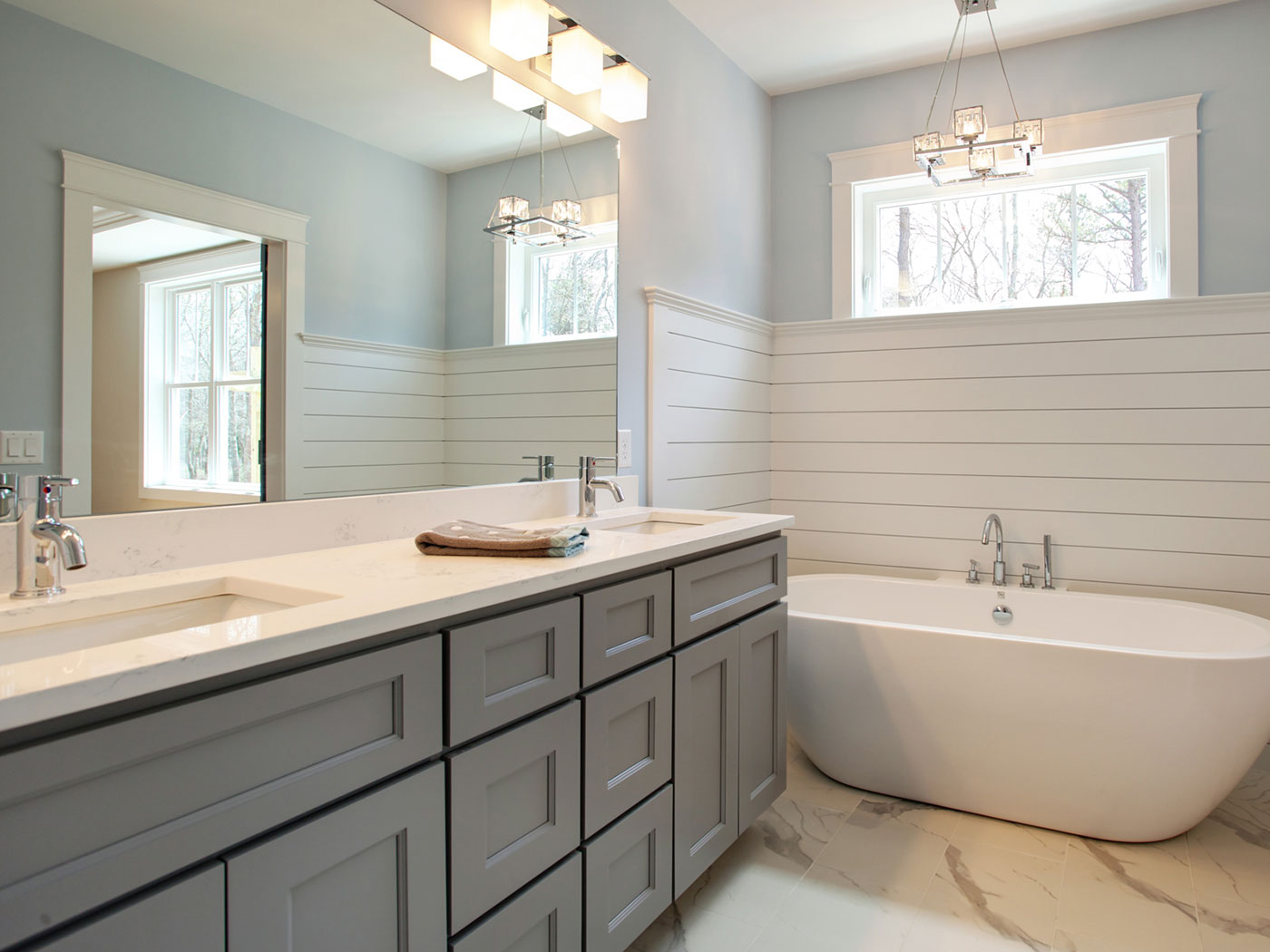 Standard Bathroom Cabinets - Craftworks Custom Cabinetry - Rochester, NY