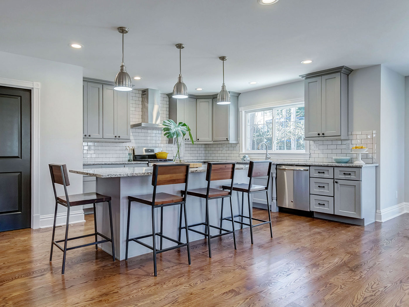 Standard Kitchen Cabinets Brooklyn Gray - Craftworks Custom Cabinetry - Rochester, NY