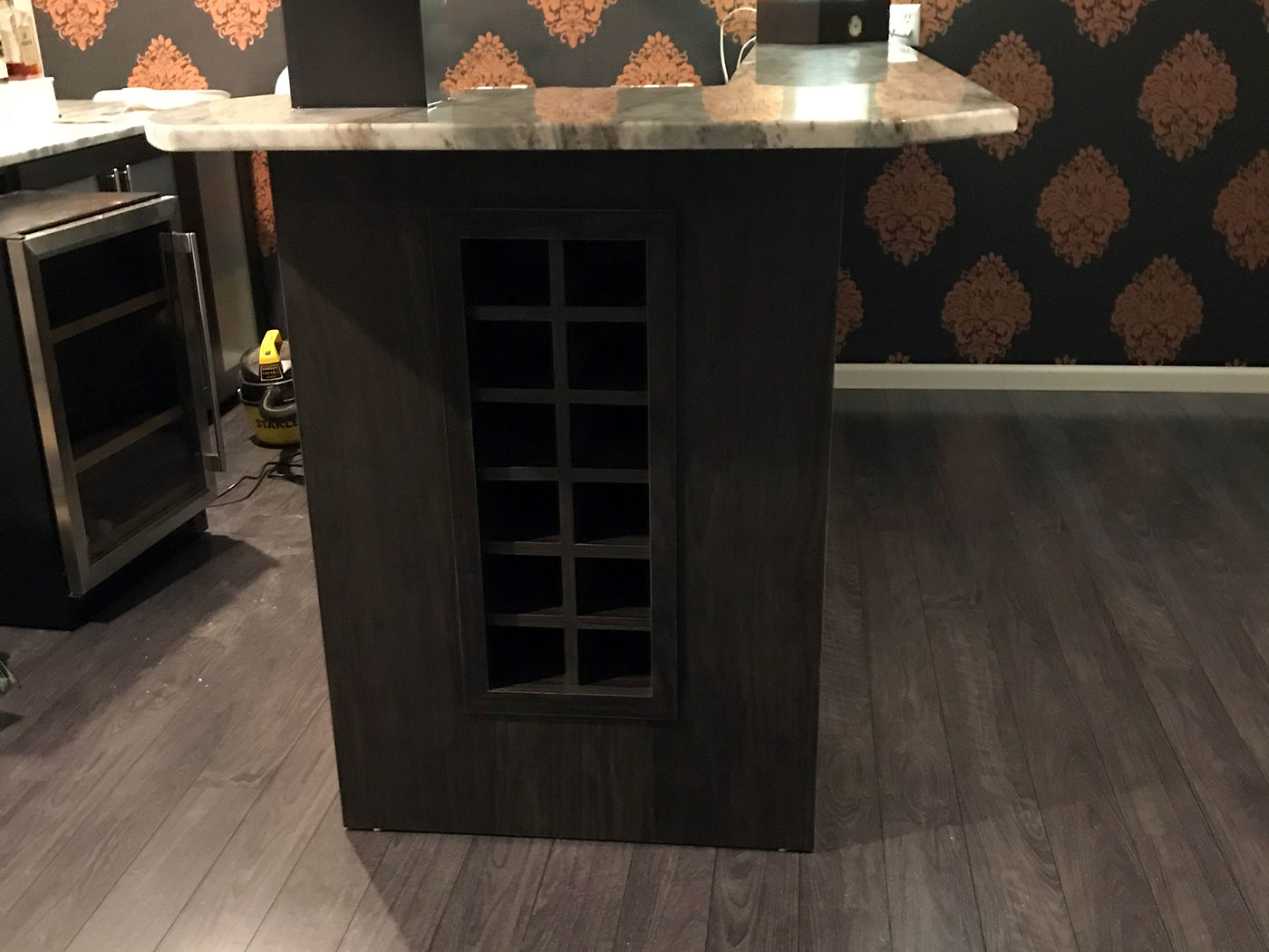 Wine Bar - Craftworks Custom Cabinetry - Rochester, NY